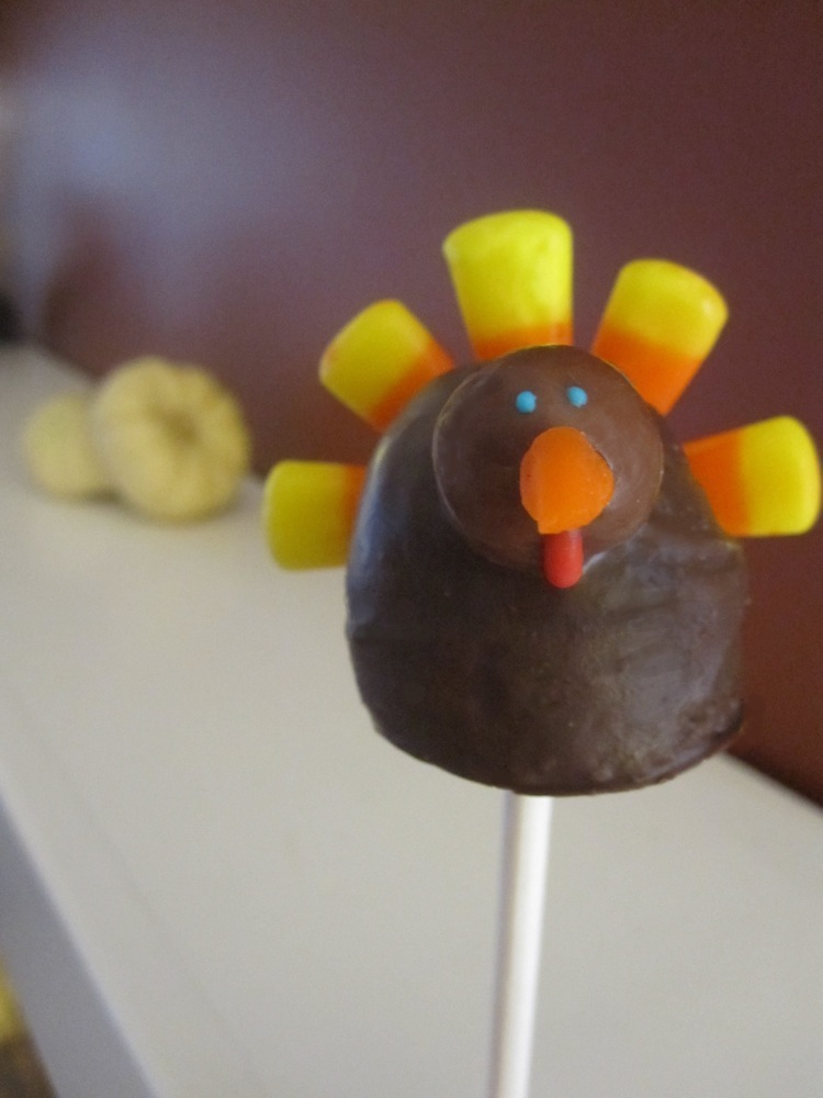 Cake Pop Ideas For Thanksgiving : Thanksgiving Cake Pops Decorating Ideas 77236 Turkeypop 1