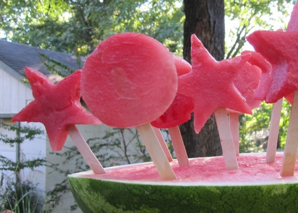 frozen watermelon pops makes about 20 pops depending on the size of ...