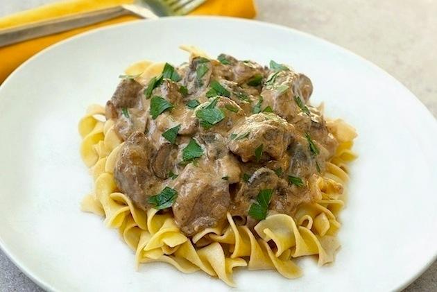 Slow Cooker Beef Stroganoff I Recipe — Dishmaps