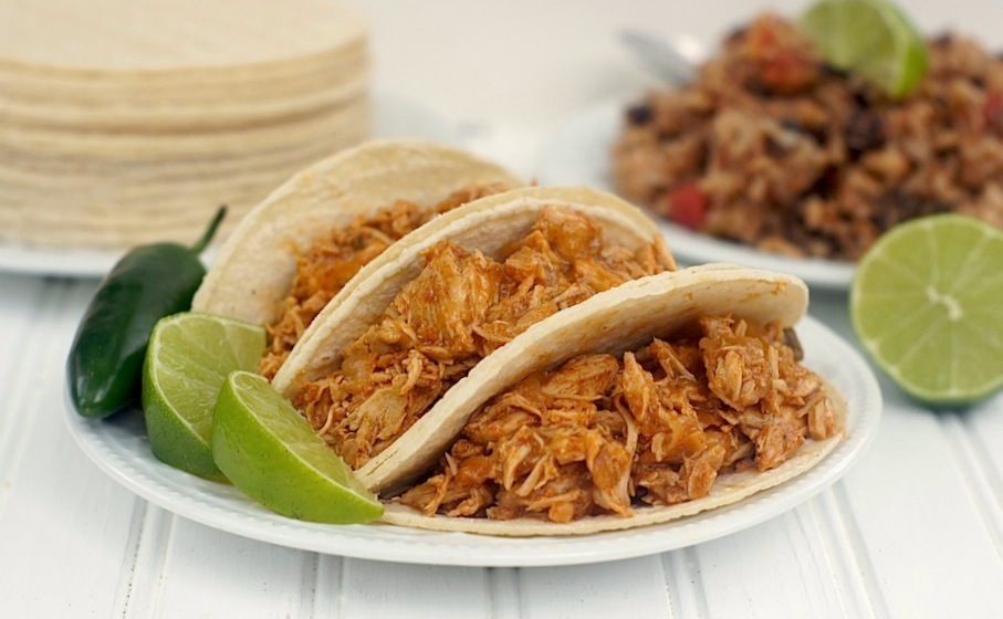 Slow-Cooker Shredded Tex-Mex Chicken
