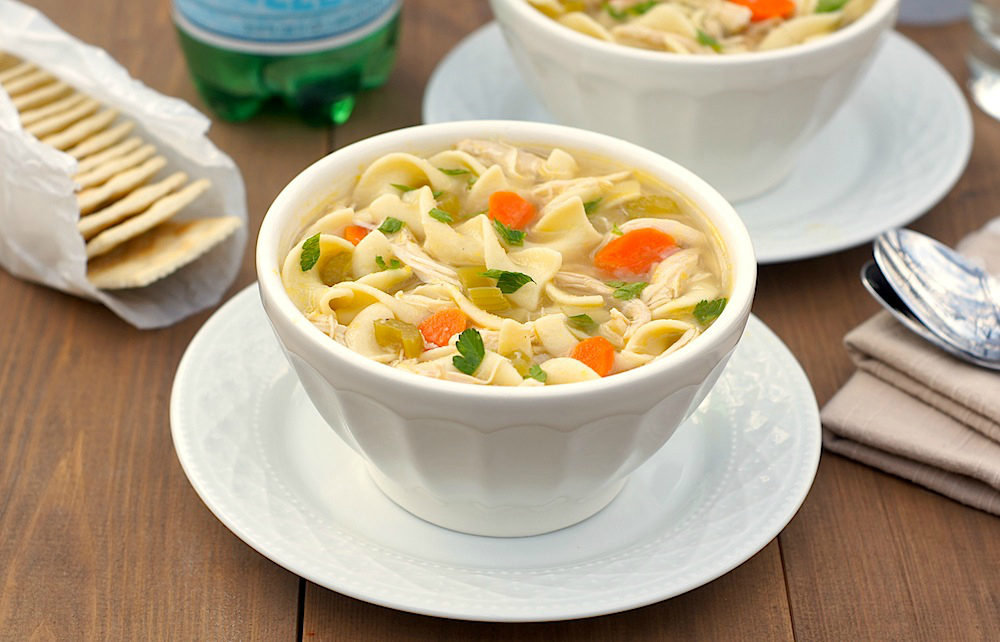 Chicken Noodle Soup - king james version holy bible