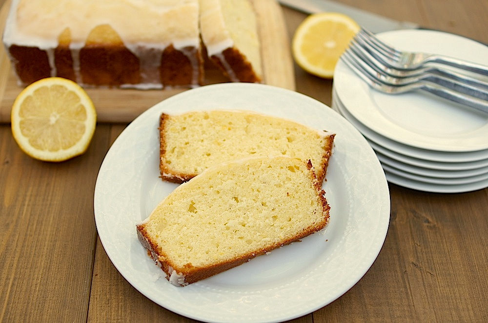 glazed lemon pound cake makes two 4 5 x8 loaves or one bundt cake ...