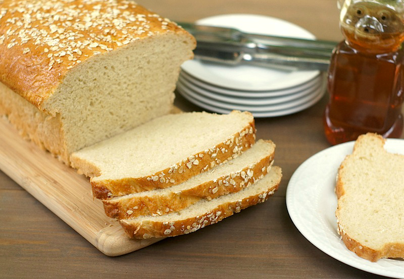 Honey-Oat Bread