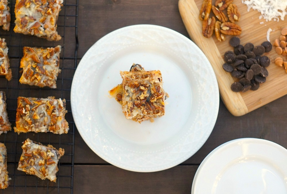 Seven Layer Bars (Lightened-Up!)
