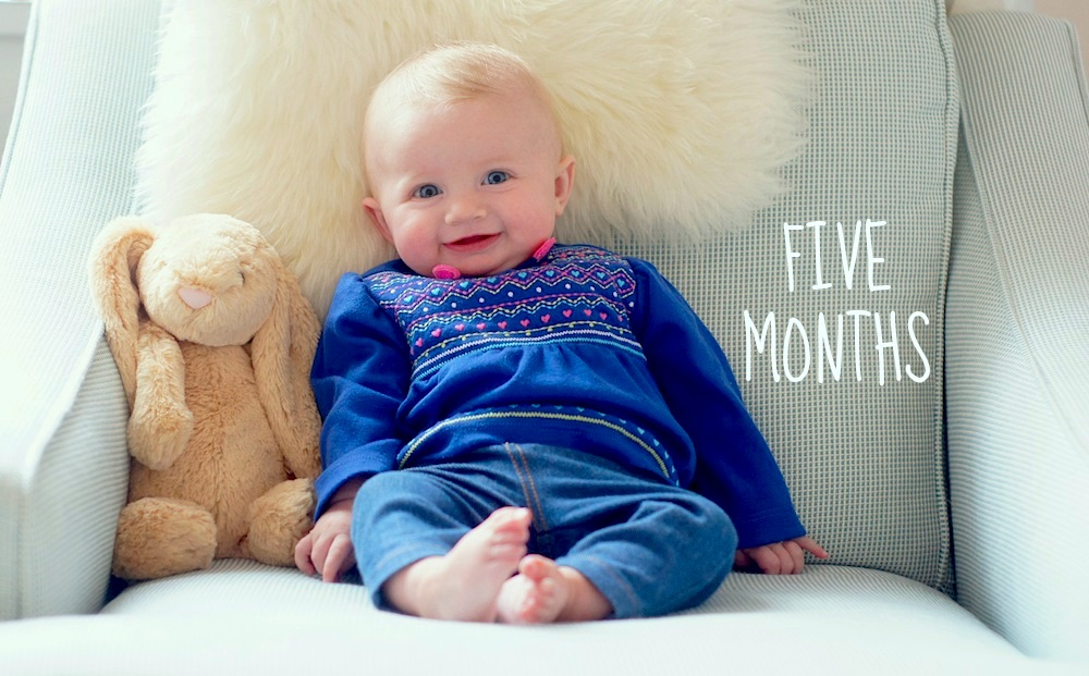 Fearless Baby - 5 months old