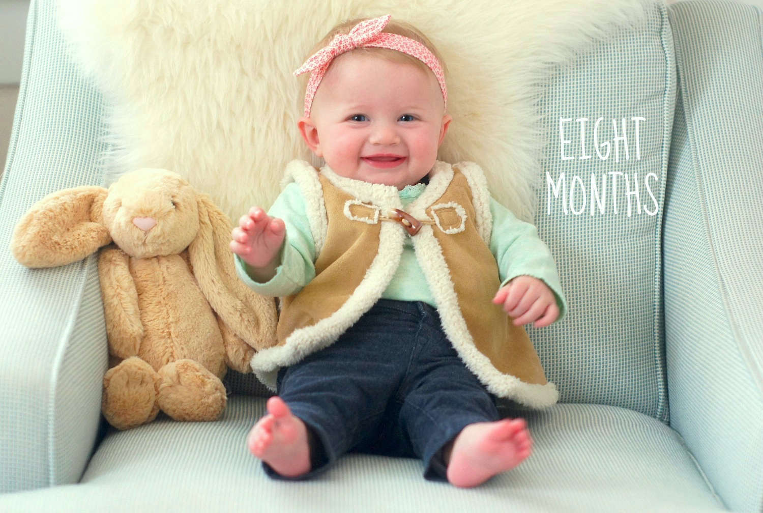 Fearless Baby - 8 months old
