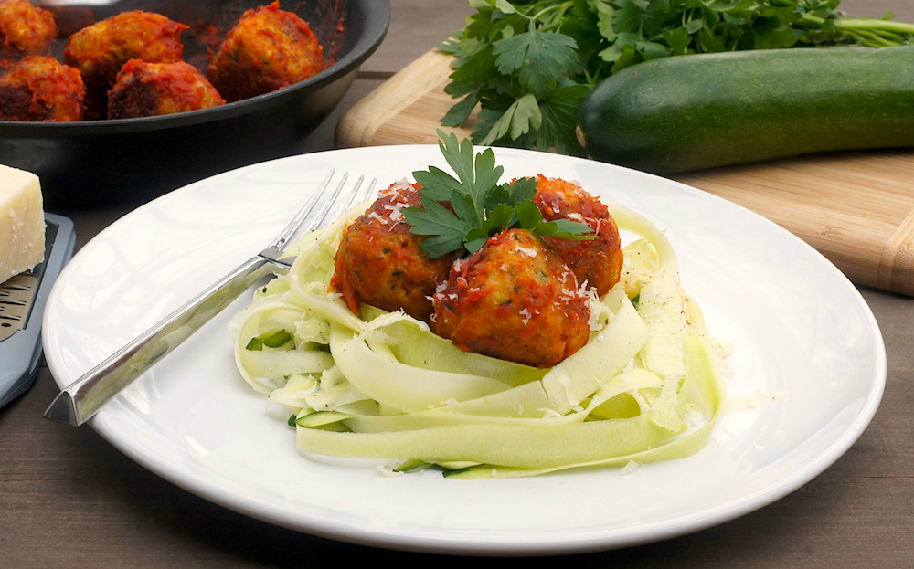 Chicken-Zucchini Meatballs