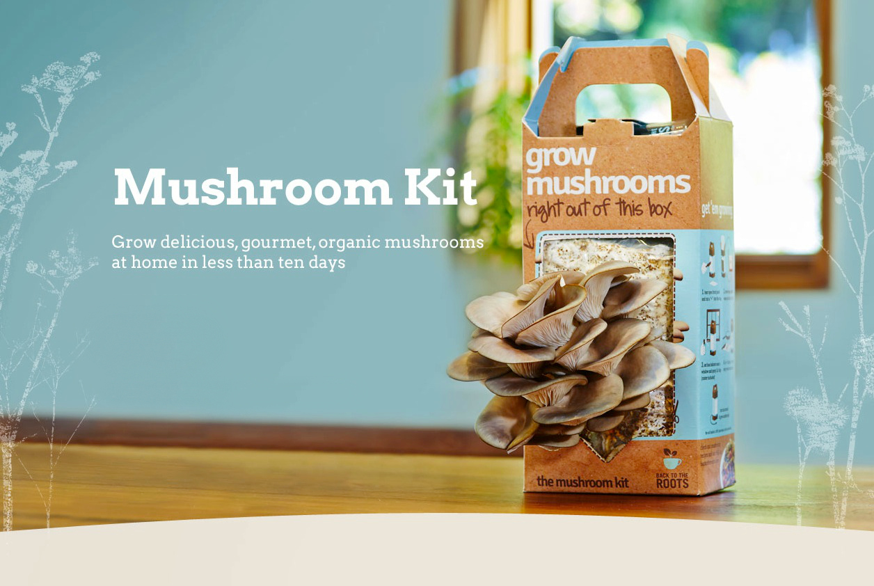 Grow-Your-Own-Mushroom Kit Giveaway!