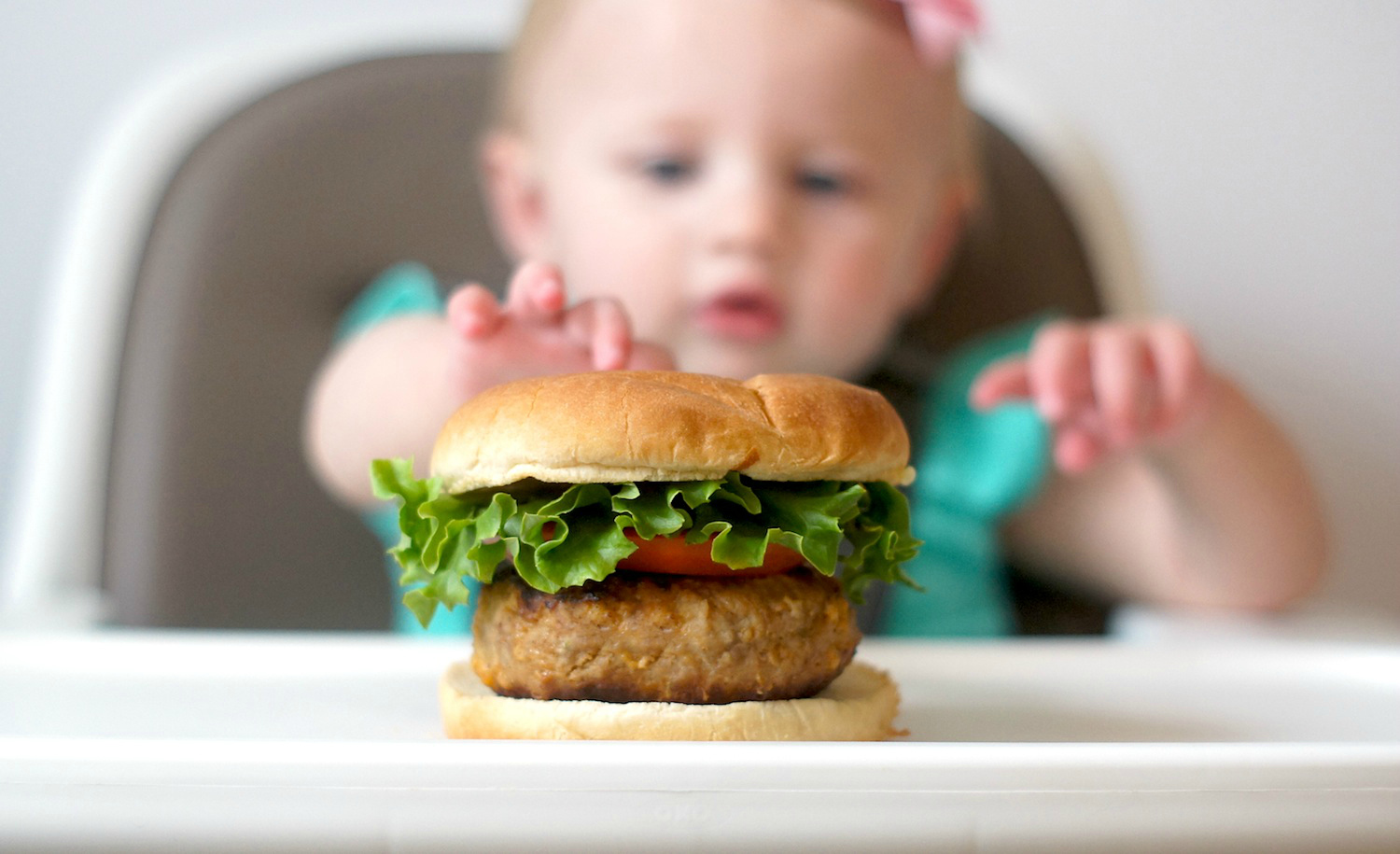 Kiddo-approved turkey burgers!