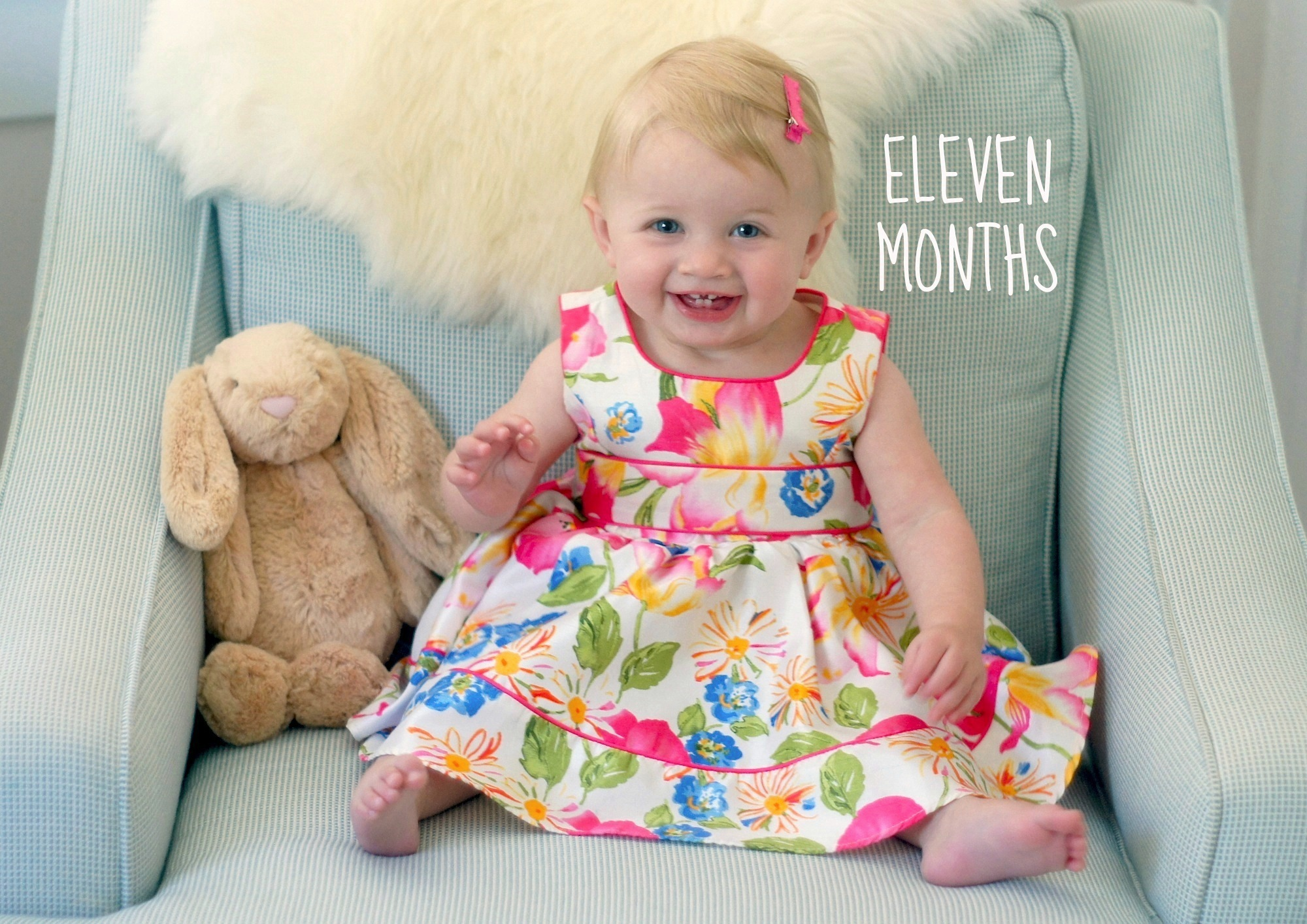 eleven-months-old
